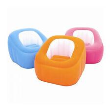 Hinchable Beanless Puf Afelpado Interior y Exterior Silla Varios Colores