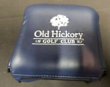 OLD HICKORY GOLF CLUB MALLET PUTTER HEAD COVER BLUE PERFECT