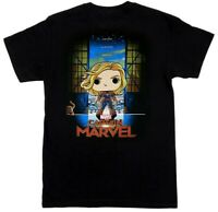 Funko Pop! Tee: Captain Marvel (Collector Corps Exclusive) T-Shirt Medium