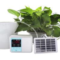 Solar Drip Irrigation Pump Intelligent Garden Automatic watering Timer systems