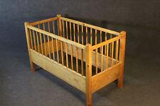 Bett, Kinderbett, Weichholz, Leiterbett um 1920 #2052