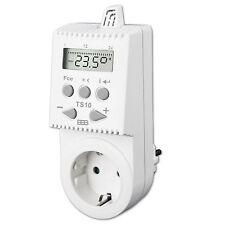 TS10 Steckdosenthermostat programmierbar Thermostat + Zeitschaltuhr für Heizung