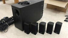 DIFFUSORI BOSE ACOUSTIMASS 15 5.1 CASSE HIFI HOME THEATRE SPEAKERS AV