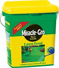 Miracle-Gro Water Soluble Lawn Food Tub 2kg Grass Fertilizer Grow Lawn GrassSoil