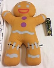 "New Gingy Gingerbread Man Shrek 3rd Dreamworks 14"" stuffed animal plush Toy Doll"