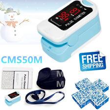 NEW CE  Finger Pulse Oximeter Fingertip Oxygen Monitor SPO2 PR,CMS50M LED CONTEC