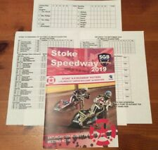 2019 STOKE v PLYMOUTH 10th AUGUST + INSERTS 7th SEPT CARMARTHEN v READING