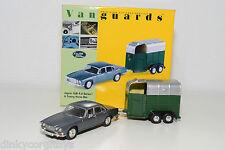 . VANGUARDS VA08602 JAGUAR XJ6 4.2 SERIES 1 & TOWING HORSE BOX MINT BOXED