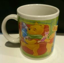Winnie the Pooh Mug w/ Tigger Piglet Disney by Houston Harvest