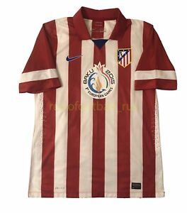Atletico Madrid Home football shirt 2013 - 2014 / player issue shirt