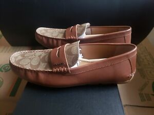 Coach Mott Driver Loafer - Free Expedited Shipping