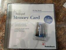 Nintendo 64 N64 Memory Card 1M by RadioShack  Vintage