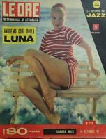 LE ORE N.232 1957 SANDRA MILO
