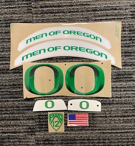 Oregon Ducks 3D Apple Green Men Of Oregon Football Helmet Decals