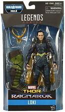 2017 Marvel Legends Thor Ragnarok Action Figure - Loki w/ Hulk BAF Piece