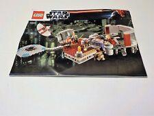 LEGO 9526 Star Wars Palpatine's Arrest  Instruction Manual ONLY