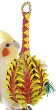 03365 Medium Pineapple Foraging Bird Toy Cage Toys Cages Foraging Chew Shredder