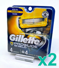 Gillette Fusion5 ProShield Razor Blades, Lot of 2 x 4 = 8 Total #6147x2