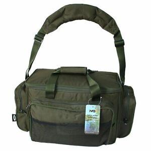 New Model! NGT (709) Green Carryall Carp Fishing Tackle Bag Holdall