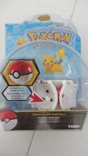 NEW SEALED TOMY POKEMON THROW 'N' POP POKE BALL PIKACHU & POKE BALL POPS OPENS
