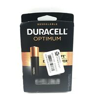 Duracell Optimum Alkaline AA Batteries Resealable 8-Pack NEW! Ship FREE