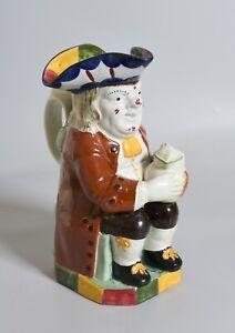 Antique 1820 English Scottish Pottery TOBY JUG. Yorkshire, Early 19th C. Mug