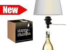 CHAMPAGNE VINO GIN RUM LIQUORE WHISKY - Trasforma la tua bottiglia in lampada