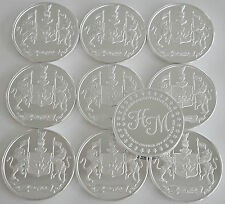 """10 ONE OZ HW MINTING HERALDRY MINT """"CANADA"""" FINE .999 SILVER COINS SILVER ROUND"""