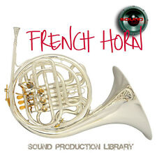 FRENCH HORN REAL - UNIQUE Perfect WAVE/NKI Multi-Layer Samples Library on DVD
