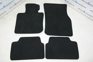 Mini F55 Set of Floor Mats Anthrazit Black LHD Fussmatten Satz 51477380825