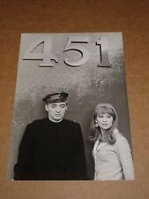 """Fahrenheit 451"" 1966 film still (Julie Christie/Oskar Werner) (1)"