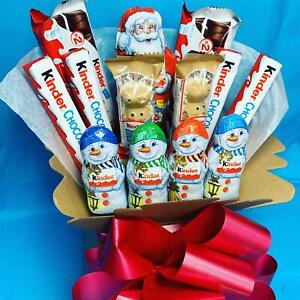 Kinder Milk Chocolate Explosion Bouquet Christmas Gift Hamper Easter