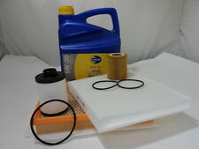 Vauxhall Zafira B 1.9 CDTI Service Kit Oil Air Fuel Cabin Filter 5ltr oil
