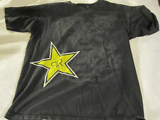 Men's Fox Racing Rockstar Energy Black Shirt Large L ~ 0852