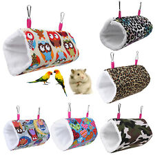 Hammock Pet Hamster Rat Parrot Ferret Squirrel Hanging Bed Cushion House Cage