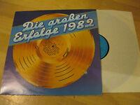 LP Die Großen Erfolge 1982 Schlager In meiner Heimat AMIGA DDR Vinyl 8 55 980