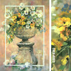"""26W""""x38H"""" SJATIN B.V. HOLLAND by WILLEM HAENRAETS FLORAL VASE CHOICES of CANVAS"""