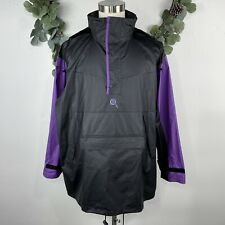 VTG 90s Xena Warrior Princess Windbreaker Jacket L Pullover Rain Gear Packable