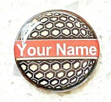 Personalised Golf Ball Markers Ebay