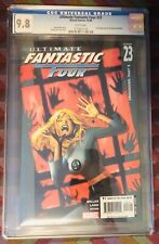 ULTIMATE FANTASTIC FOUR 23 CGC 9.8 2ND APP OF MARVEL ZOMBIES 2005