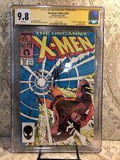 UNCANNY X-MEN #221 - CGC 9.8 - 1st Mr. Sinister - signed by Chris Claremont