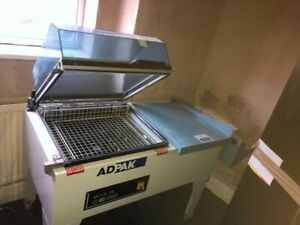 ADPAC shrink wrap machine