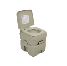 Portable Latrine Camping Toilet Kit Commode Chair Hunting Outdoor Composting
