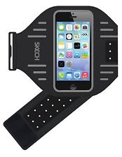 Skech Sport Lightweight Adjustable Sweat Poof Armband for Apple Iphone  5/5S/SE