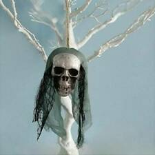Halloween Party Hanging Scary Decor Pirate Skull Haunted Skull Head Ornament HOT