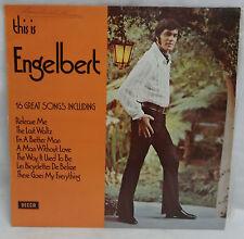 RECORD - THIS IS ENGELBERT - ENGELBERT HUMPERDINCK- GOOD CONDITION
