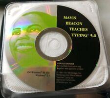 Mavis Beacon Teaches Typing 5.0 Classic - Windows 3.1 Mac Windows 95 Unix Vide