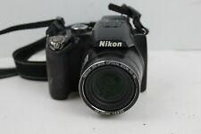AS IS BROKEN PARTS Nikon COOLPIX P100 10.3MP Digital Camera - Black