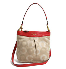 Coach Ashley dotted op art hippie 2WAY shoulder bag F20088 Crossbody Bag Purse