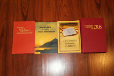 SPANISH Watchtower TRUE PEACE, SEARCH, WORSHIP, TEACH 4 OOP Bks 1st Ed Jehovah